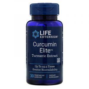 Экстракт куркумы, Curcumin Elite Turmeric Extract, Life Extension, 30 капсул
