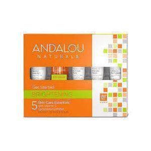 Набор для путешествий, Skin Care Essentials, Andalou Naturals, 5 шт.