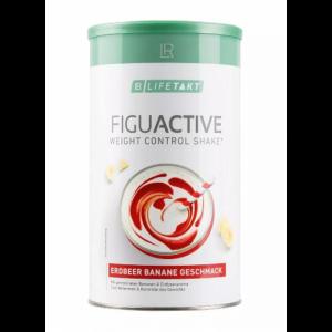 Figu Active протеиновый коктейль для контроля веса, LR Lifetakt, с клубнично-банановым вкусом, 450 г