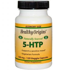 5- гидроксилтриптофан (5-НТР), Healthy Origins,120 кап