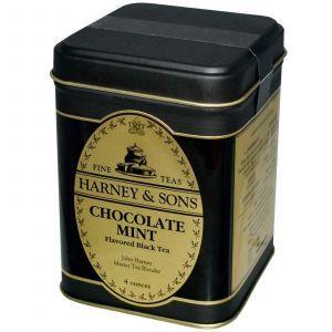 Чай черный (шоколад-мята), Harney & Sons, 40 г.