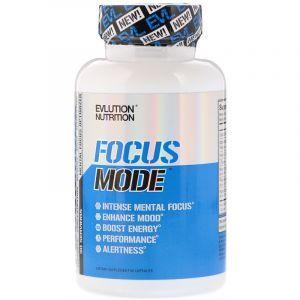 Поддержка памяти, Focus Mode, EVLution Nutrition, 60 капсул