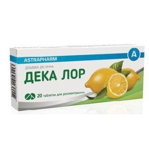 Дека лор, Астрафарм, 20 таблеток