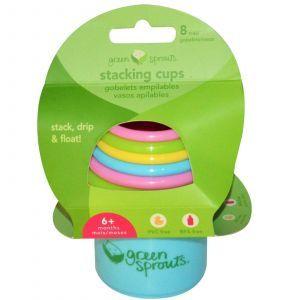 Пирамидка, Stacking Cups, iPlay Inc., 8 штук