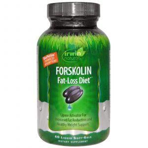Форсколин, Irwin Naturals, 60 капсул