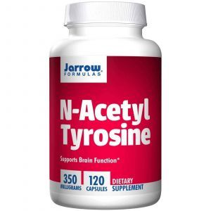 Ацетил тирозин, N-Acetyl Tyrosine, Jarrow Formulas, 350 мг, 120 капсул