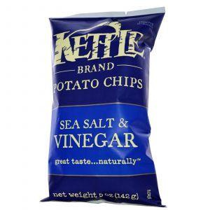 Картофельные чипсы, Potato Chips, Kettle Foods, 142 г