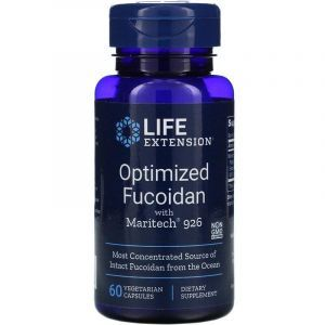 Фукоидан, Optimized Fucoidan, Life Extension, 60 капсул (Default)