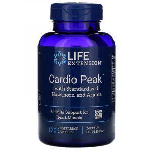 Кардиотоник, Cardio Peak, Life Extension, боярышник/арджуна, 120 капс. (Default)