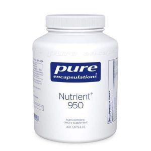Мультивитамины / минералы, Nutrient 950, Pure Encapsulations, 180 капсул