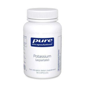 Калий (аспартат), Potassium (aspartate), Pure Encapsulations, 90 капсул