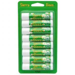 Бальзамы для губ, Sierra Bees, 8 штук (4,25 г)