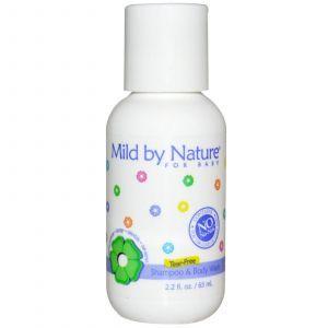 Детский шампунь-пенка смягчающий, Mild By Nature, 65 мл.