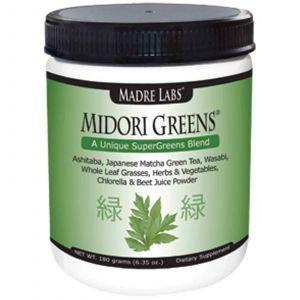 Зеленый чай смесь, Madre Labs, 180 гра
