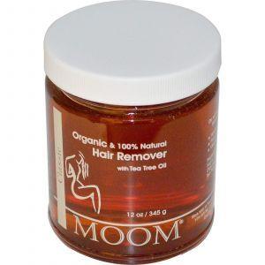 Для удаления волос, Moom, с маслом чайного дерева(345 г)