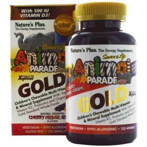 Витамины для детей, Nature's Plus, Animal Parade, 120шт