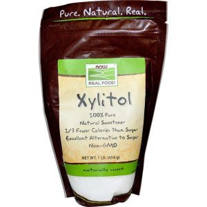 Ксилитол (сахарозаменитель), Now Foods, 454 г