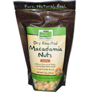 Макадамия орехи, Now Foods, 255 г
