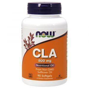 Конъюгированная линолевая кислота, CLA, Now Foods, 800 мг, 90 гелевых капсул