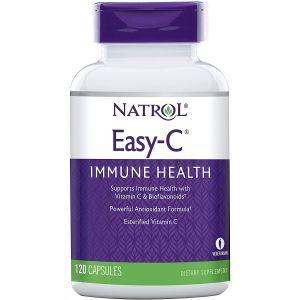 Витамина C для иммунитета, Easy-C, Natrol, 500 мг, 120 капсул