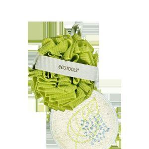 Мочалка для душа (двухсторонняя), Dual Cleansing Pad, EcoTools, 1 ш