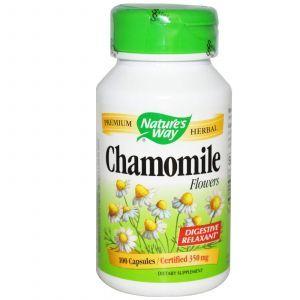 Ромашка (цветы), Nature's Way, 350 мг, 100 кап.
