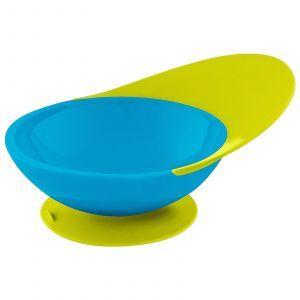 Глубокая тарелка сине-зеленого цвета, Toddler Bowl, Boon, 1 шт