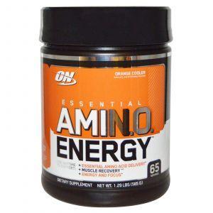 Амино энергия (AmiN.O. Energy) оранж, Optimum Nutrition, 585 г