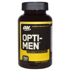 Опти-мен (Оpti-Men), Optimum Nutrition, 150 табл.