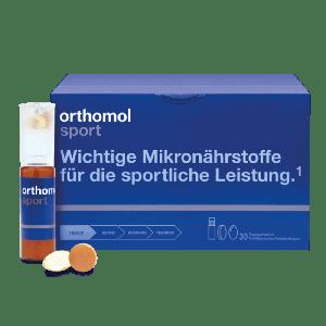 Витамины для спорта Orthomol Sport 30 таблеток + 30 бутылочек