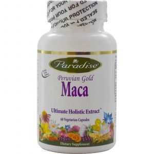 Мака, Paradise Herbs, 60 капсул