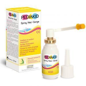 Спрей горло-нос для детей, Spray Nose - Throat, Pediakid, 20 мл