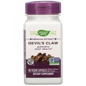 Коготь дьявола (Devil's Claw), Nature's Way, стандартизированный, 90 капсул