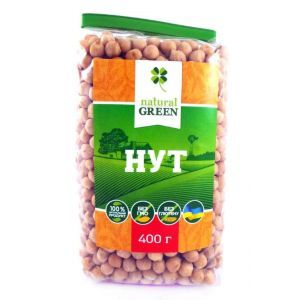 Нут, NATURAL GREEN, 400 г