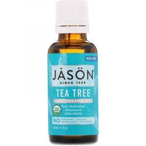 Масло чайного дерева, Tea Tree, Jason Natural, органик, 30 мл