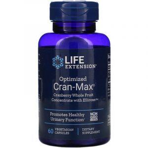 Мочевыводящая система, поддержка, Healthy Urinary Function, Life Extension, концентрат клюквы и гибискуса, 60 капсул