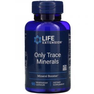 Микроэлементы, Minerals, Life Extension, 90 капсул