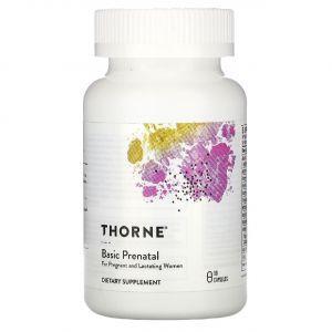 Витамины для беременных, Prenatal, Thorne Research, 90 капсул