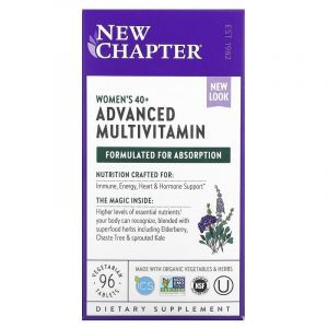 Мультивитамины для женщин II 40+, Woman II Multivitamin, New Chapter, 96 таблеток