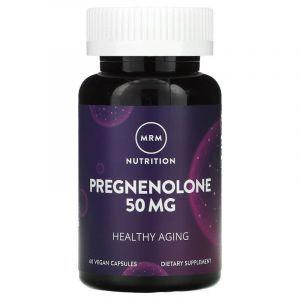 Прегненолон, Pregnenolone, MRM, 50 мг, 60 капсул (Default)