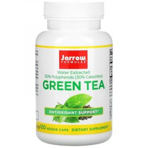 Зеленый чай (Green Tea), Jarrow Formulas, 500 мг, 100 капсул (Default)