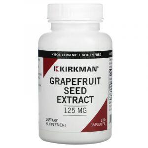 Экстракт грейпфрутовой косточки, Kirkman Labs, 120 капсул