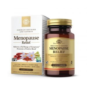 Поддержка при менопаузе, MenopauseRelief, Solgar, 30 мини- таблеток