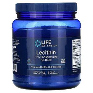 Лецитин, Lecithin, Life Extension, 454 г (Default)