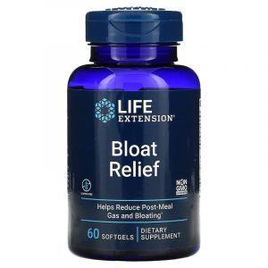 Средство от вздутия живота, Bloat Reliefe, Life Extension, 60 гелевых капсул