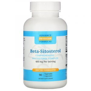 Фитостеролы, Beta Sitosterol, Advance Physician Formulas, 400 мг, 90  вегетарианских капсул