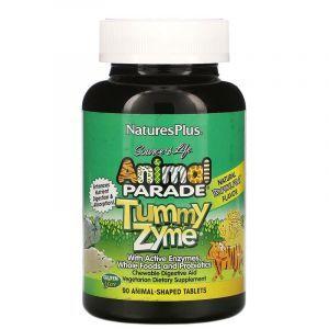 Пробиотики, Nature's Plus, для детей, 90 жев.кон