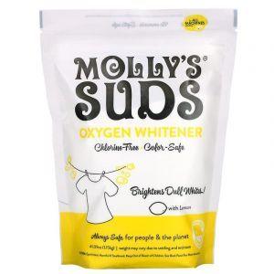 Кислородный отбеливатель с лимоном, Oxygen Whitener, Molly's Suds, 1,15 кг