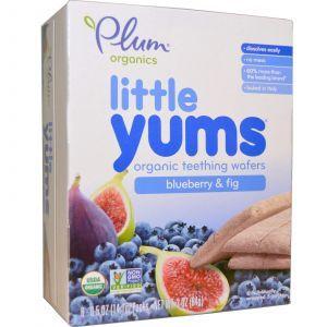 Печенье для прорезывания зубов, Organic Teething Wafers, Plum Organics, 18 шт