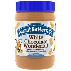 Арахисовое масло с белым шоколадом, Peanut Butter & Co., 454 г